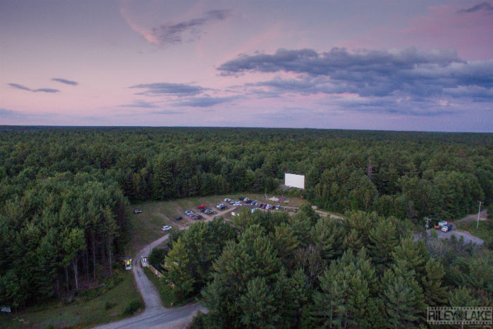 """The Muskoka Drive-In will become """"Jurassic Park North"""" amid the NBA Finals, where the Toronto Raptors will play against the Golden State Warriors."""