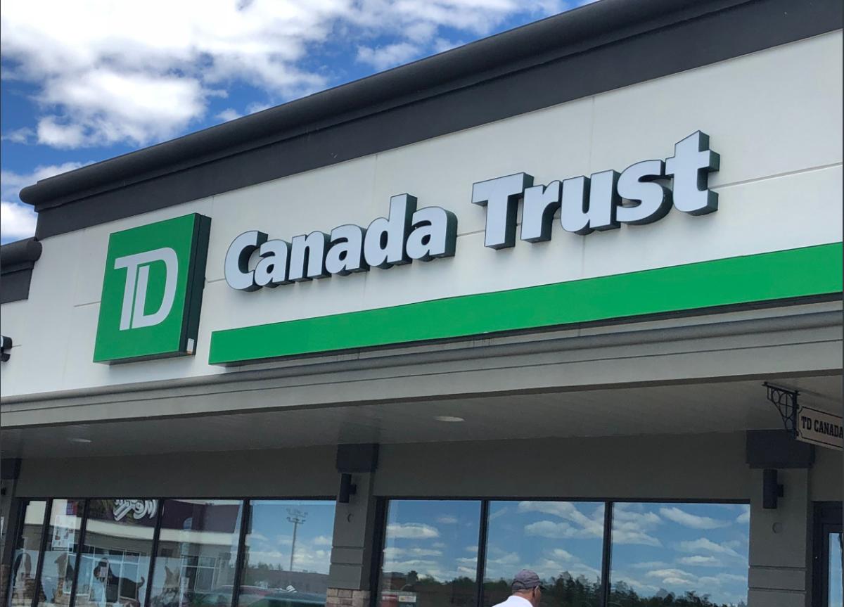 TD Canada Trust at Lacewood Drive.
