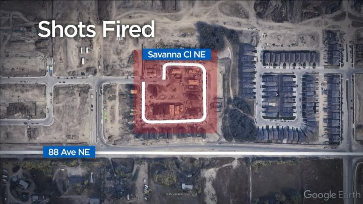 Calgary police are investigating after shots were fired in the 100 block of Savanna Close Northeast on Friday, June 21, 2019.
