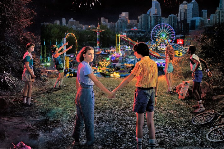 To mark the premiere of 'Stranger Things' Season 3, Netflix is coming to the Calgary Stampede for the first time, bringing the Hawkins Fun Fair to the Stampede's midway.