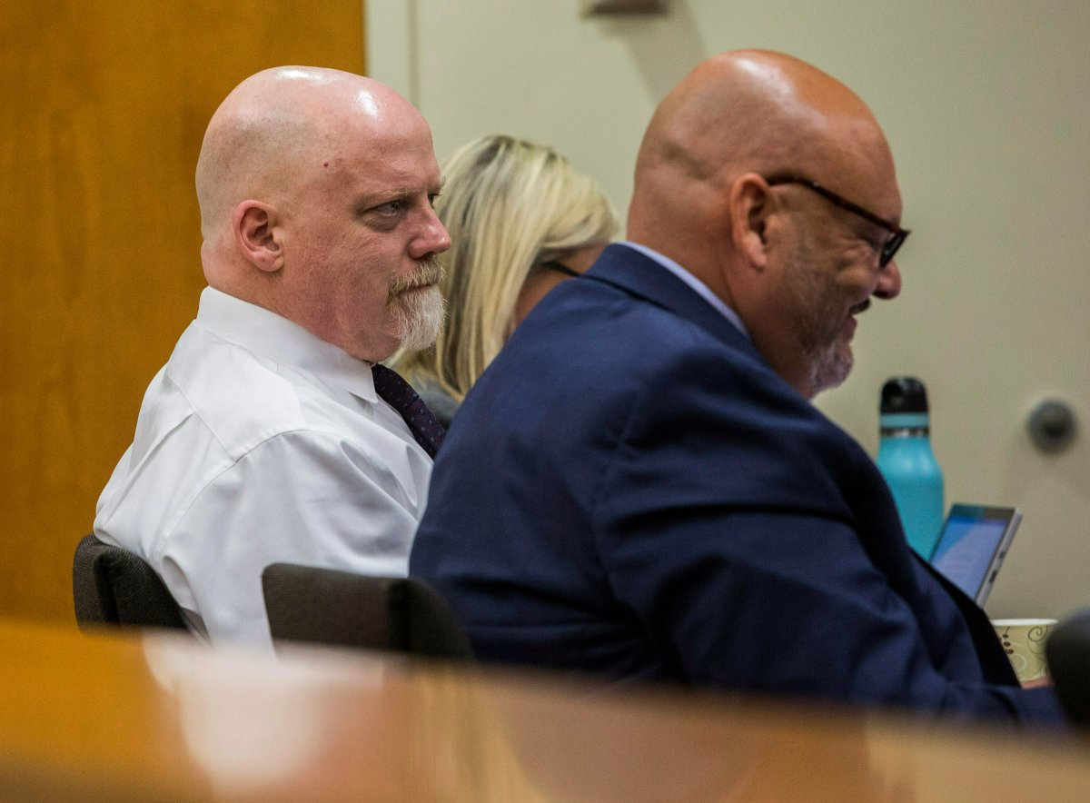 William Talbott II, left, was found guilty of the murder of a Canadian couple in 1987 on June 28, 2019.