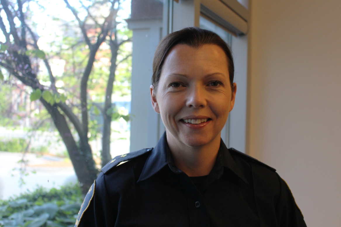 The London Police Service's newly appointed acting deputy chief, Trish McIntyre.