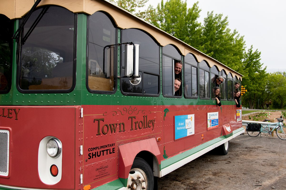 A free trolley service is returning to downtown Peterborough this summer for events at Del Crary Park.