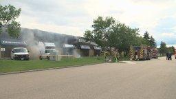 Continue reading: Firefighters battle blaze at west Edmonton strip mall