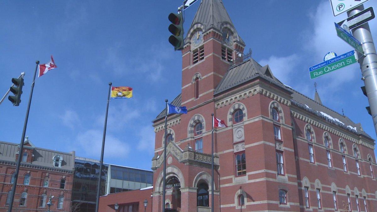 Fredericton City Hall.