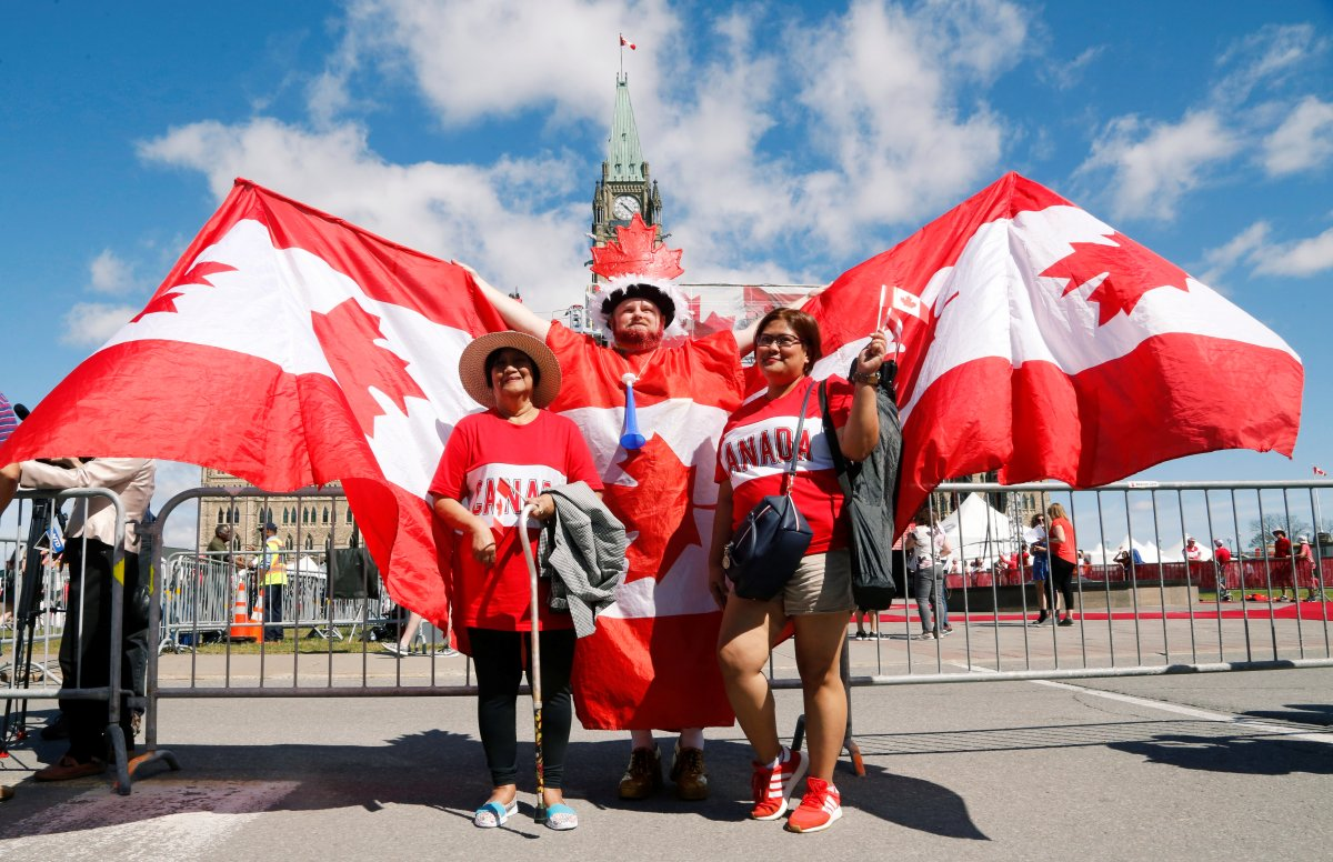 Canada Day 2019 Fireworks And Flybys Mark Country S 152nd Birthday National Globalnews Ca