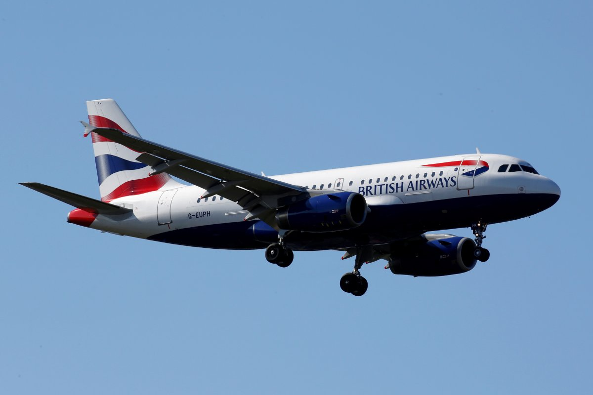 The G-EUPH British Airways Airbus A319-131 makes its final approach for landing at Toulouse-Blagnac airport, France, March 20, 2019.