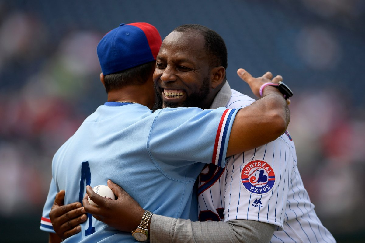 The Washington Nationals are paying tribute to the Montreal Expos in Saturday's game by wearing throwback uniforms.