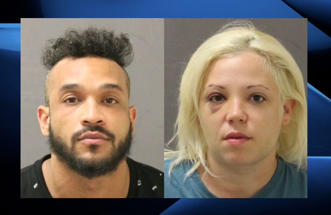Brady Allan Decoursey (also known as Jamie), 28, and Anna-Lee Rose Giroux (also known as Carla or Pamela), 28. Both of the accused are from London.