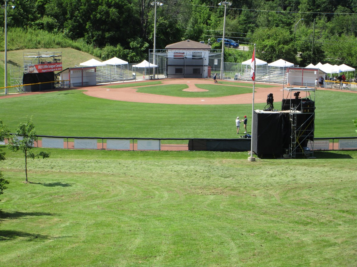 Ancaster is hosting the 2019 Canadian Little League Championship.