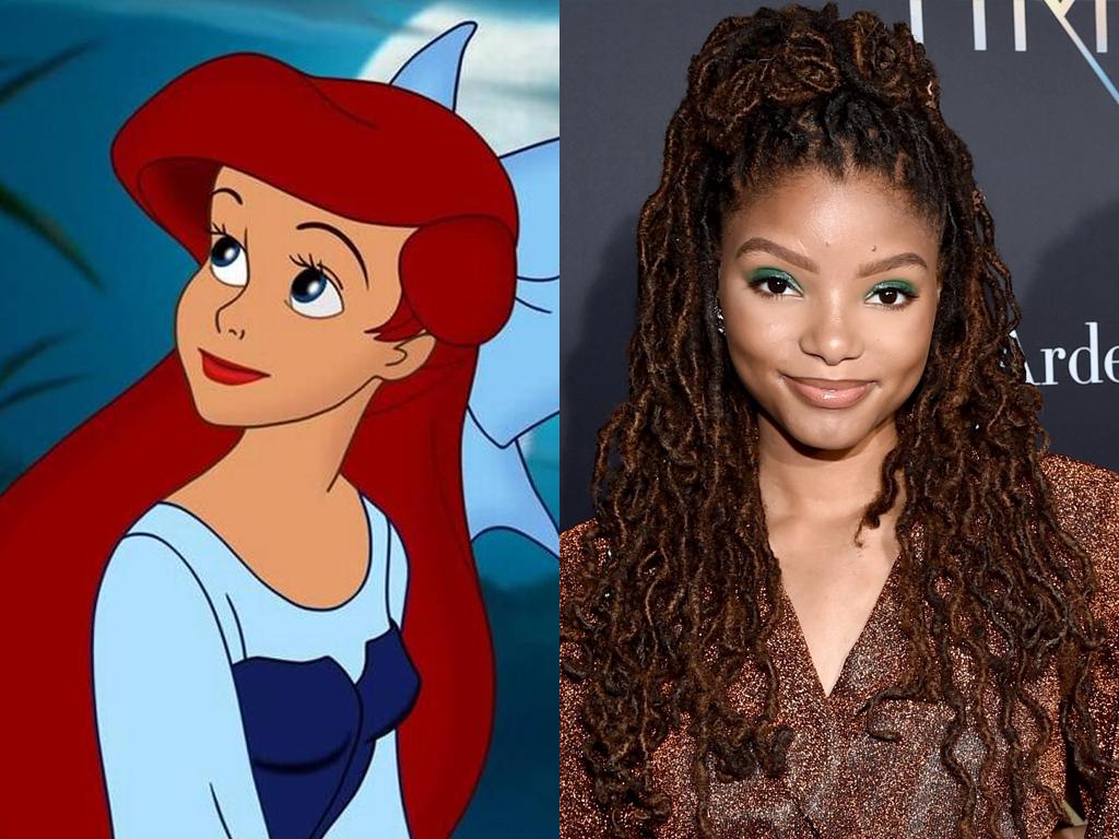 Halle Bailey will play Ariel in Disney's 'Little Mermaid' reboot.