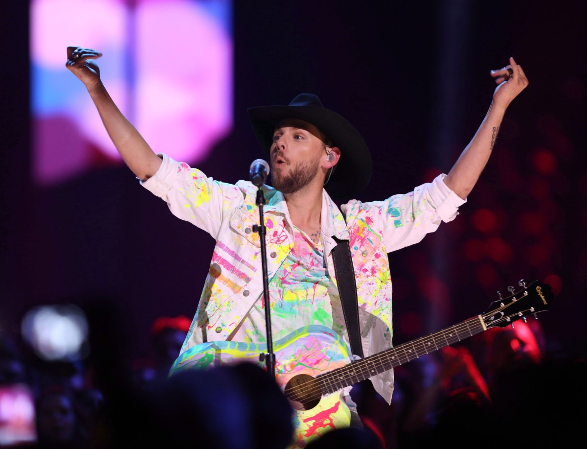 Brett Kissel performs at the Canadian Country Music Awards in Hamilton, Ont. on Sunday, September 9, 2018. Alberta sweetheart Brett Kissel is taking on Ontario bro-country act James Barker Band as the two homegrown favourites lead this year's Canadian Country Music Association Awards with five nominations each.