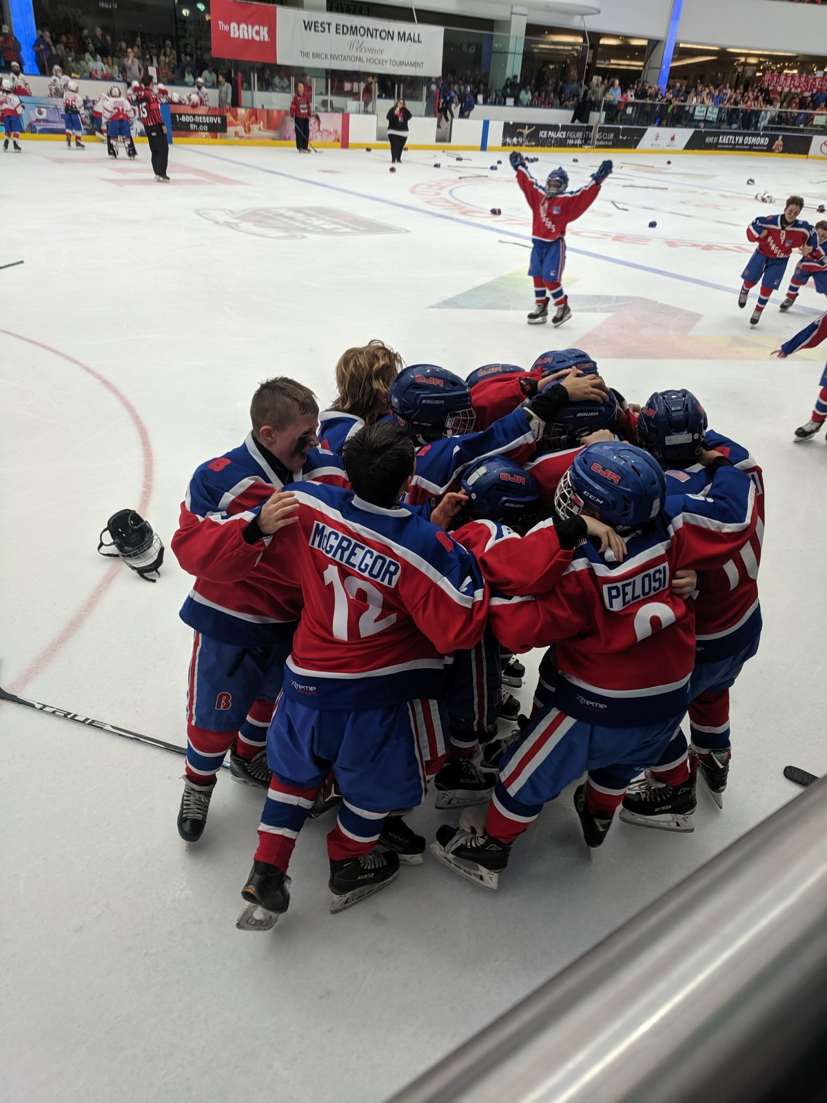 Team Brick Alberta fell 3-2 in overtime to Team Connecticut Sunday.