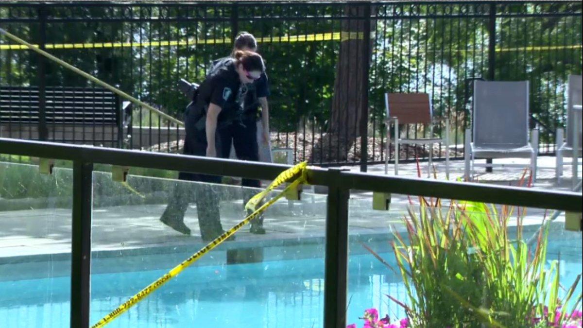 Halton police say an 89-year old man drown in a Burlington pool near Lakeshore Road on Monday.