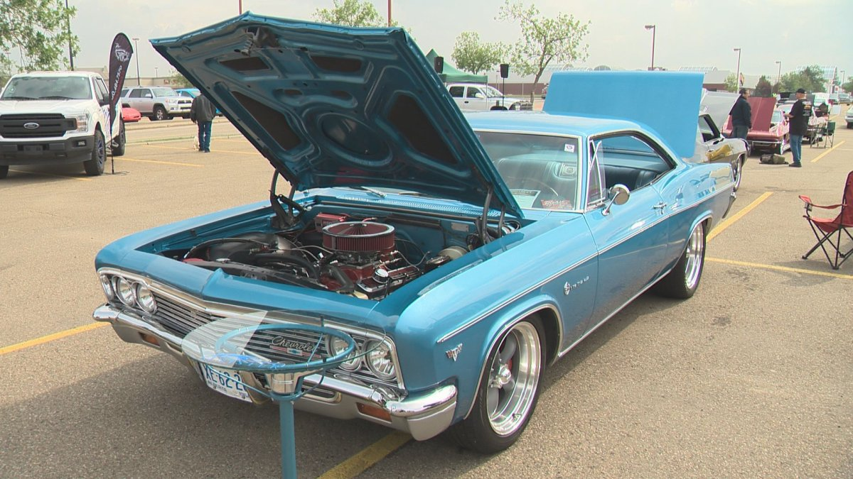 The Mainstreet Cruisers held their annual charity car show Sunday afternoon.