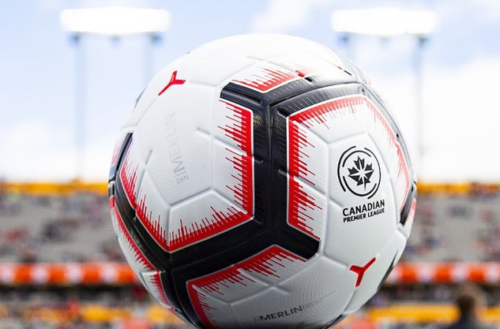A file photo of a ball used in the CPL.