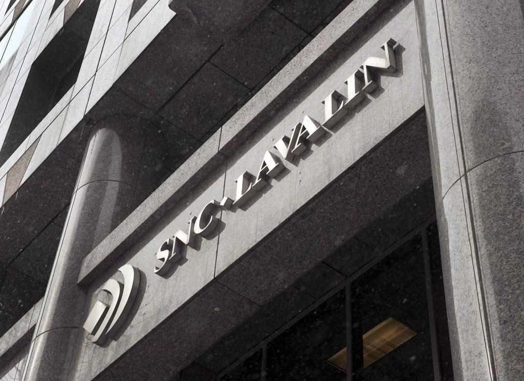 The head office of SNC Lavalin in Montreal, 2015.