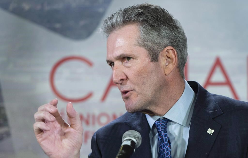 Manitoba Premier Brian Pallister is promising to stop charging the provincial sales tax on home insurance if he's re-elected Sept. 10.