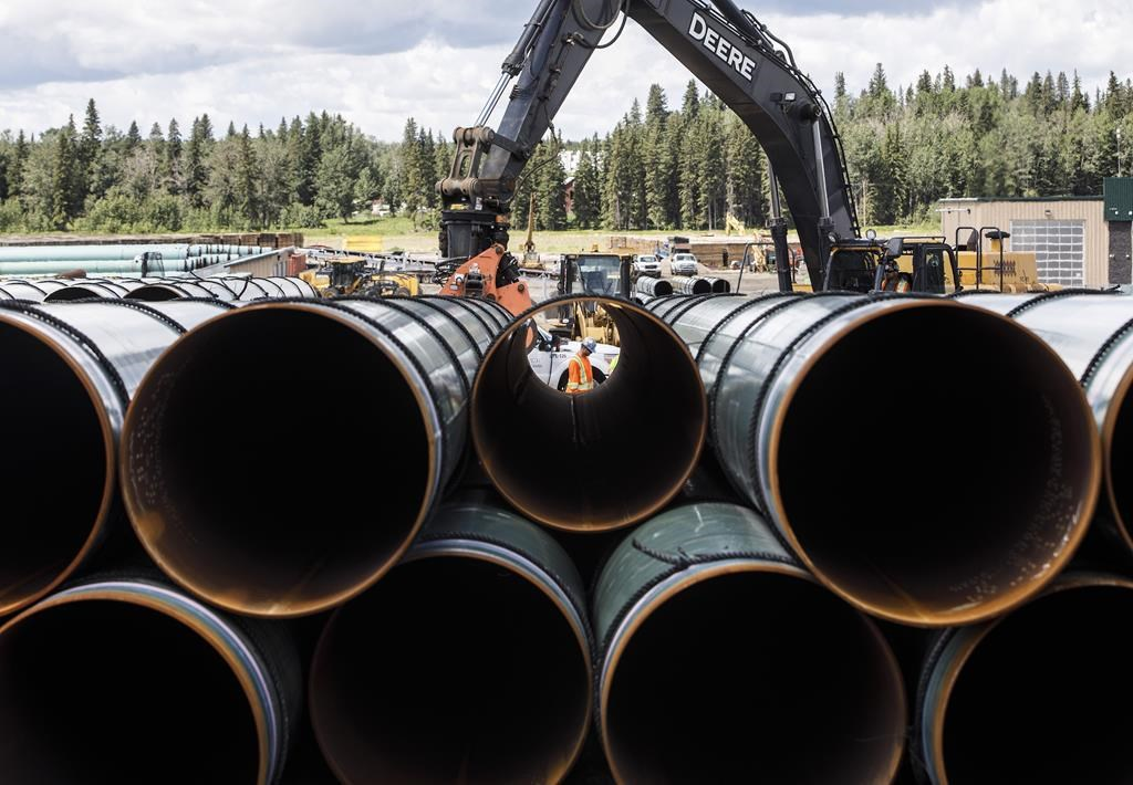 Pipeline construction is a hotter topic in the West than in the East, says Kyle Baird of Ipsos.