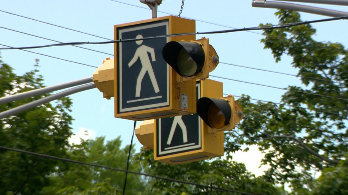 A 65-year-old man from Cole Harbour has been charged with failing to yield to a pedestrian in a crosswalk.