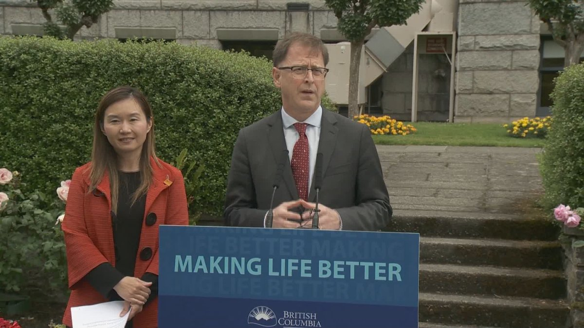 Health Minister Adrian Dix says beginning July 15, seniors requiring long-term care no longer have to accept the first.