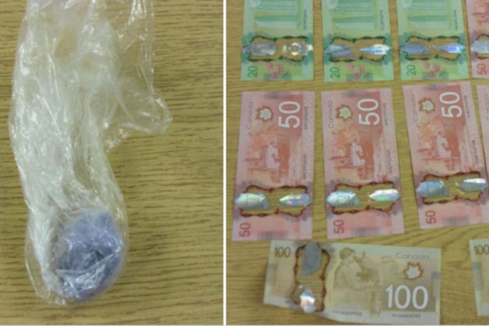 Waterloo Regional Police say they seized 19.2 grams of suspected fentanyl and $1370 in cash.