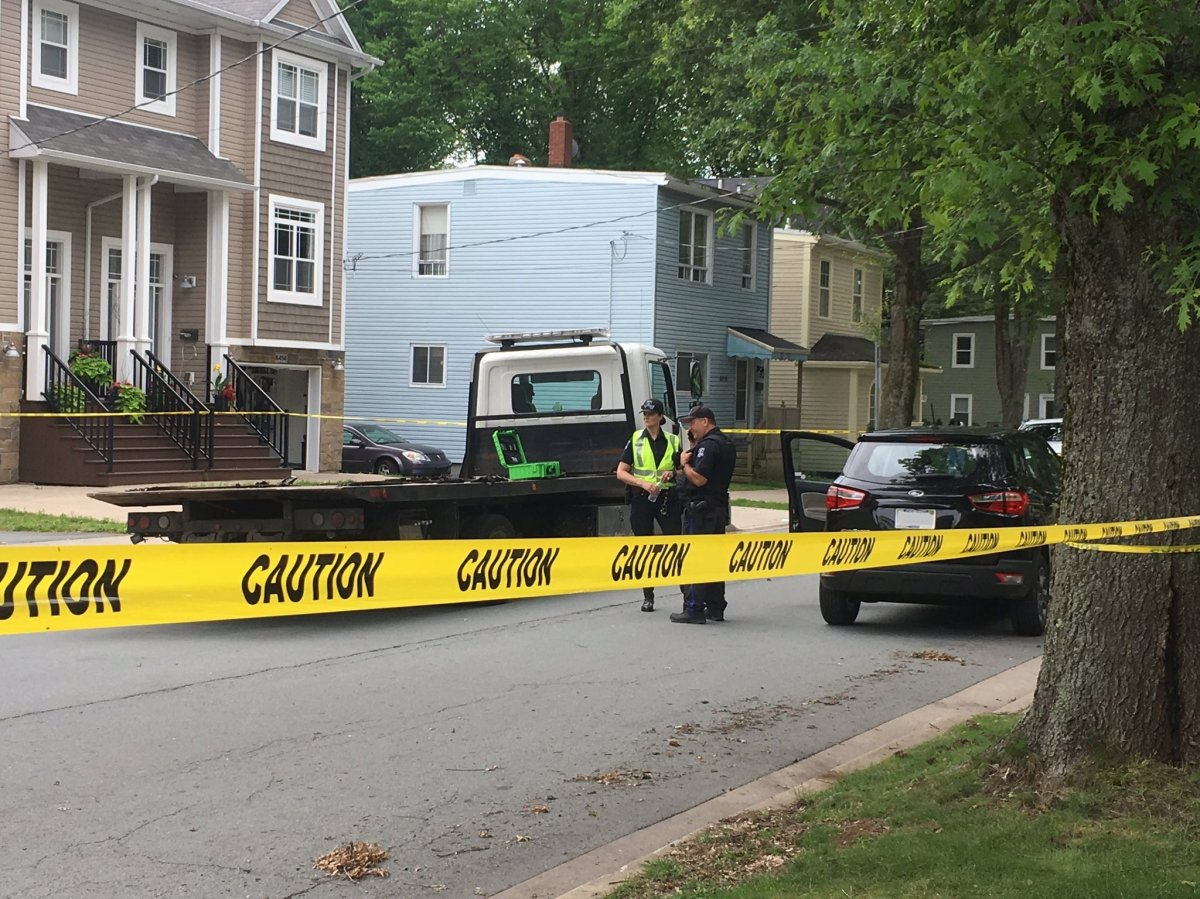 Halifax Regional Police say a pedestrian has sustained life-threatening injuries and has since been transported to the hospital.