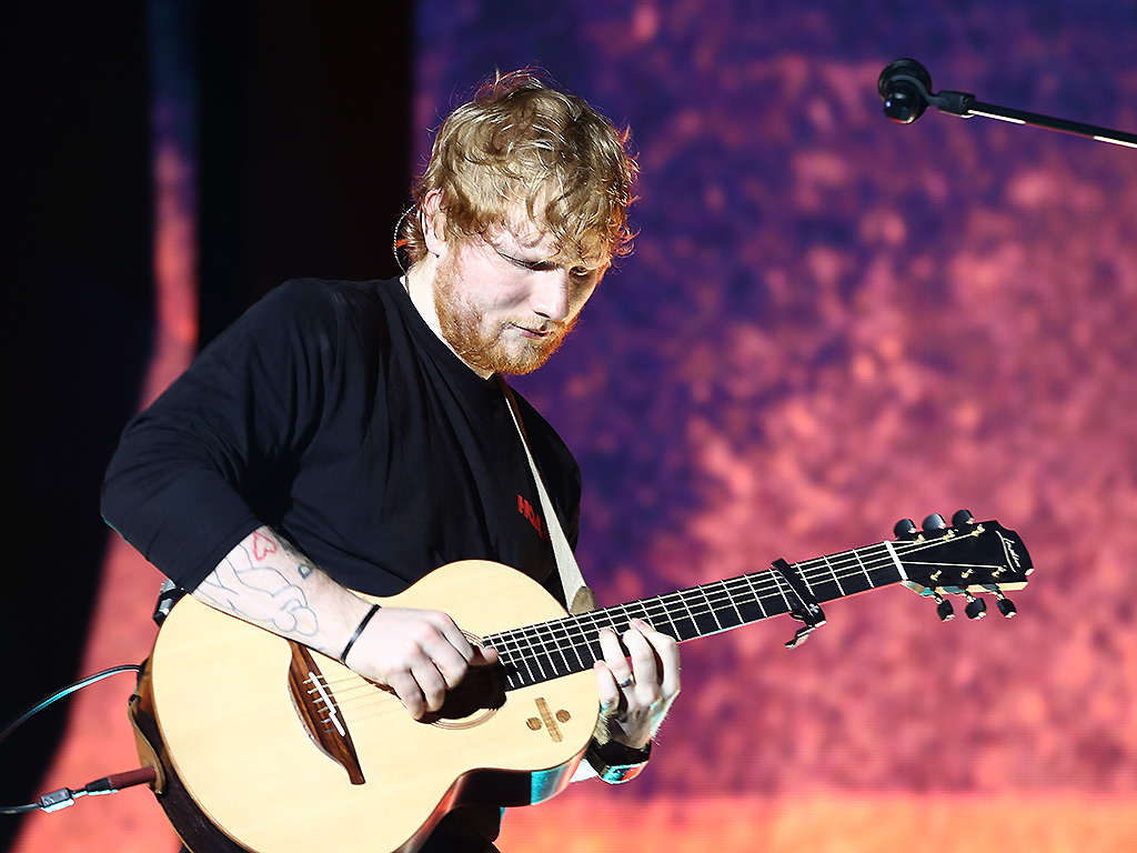 Ed Sheeran performs at Mt. Smart Stadium on March 24, 2018 in Auckland, New Zealand.