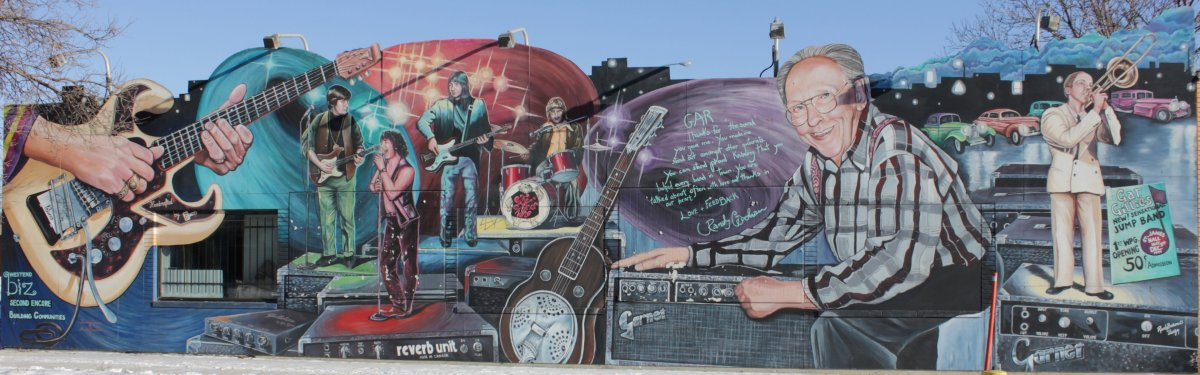 The mural formerly located at 1349 Portage Avenue.