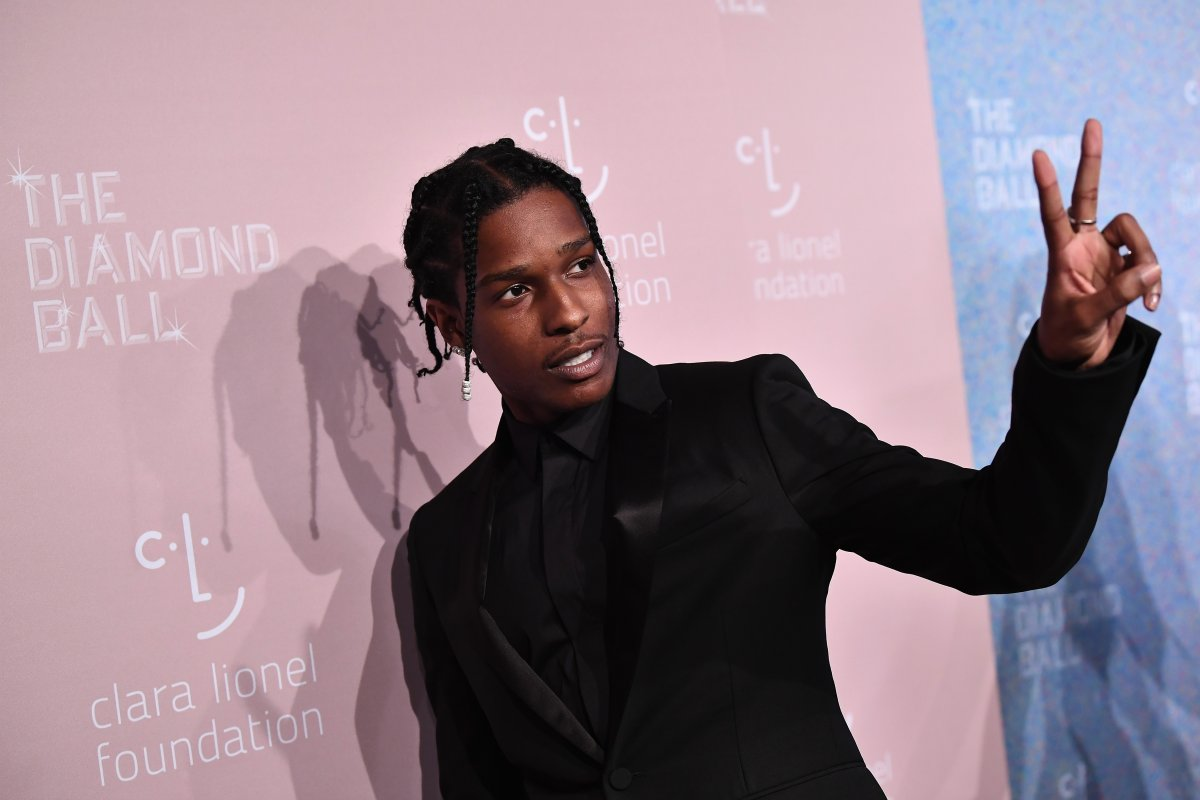 A$AP Rocky attends Rihanna's 4th Annual Diamond Ball benefitting the Clara Lionel Foundation at Cipriani Wall Street on Sept. 13, 2018 in New York City.