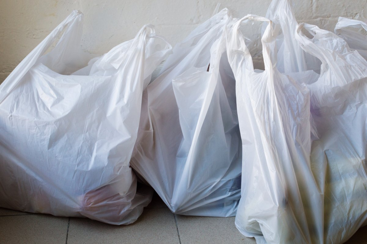 Plastic bags in an undated file photo. A survey has been launched to collect public input on a plastic bag ban in Vancouver.