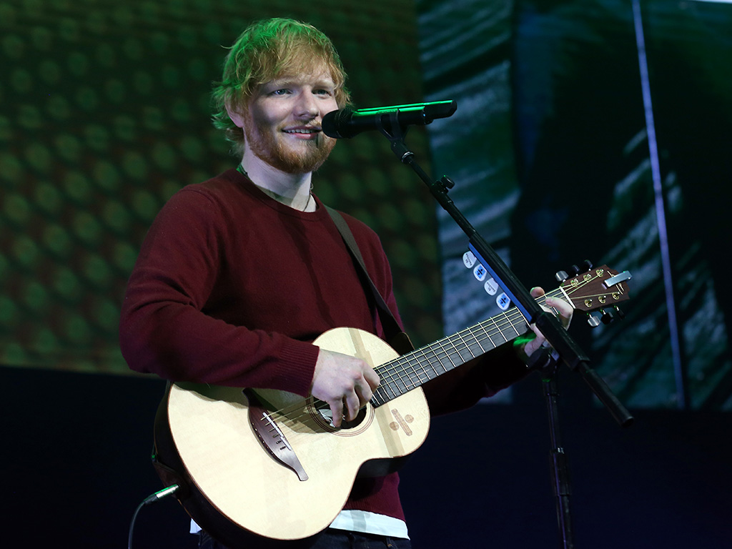 Ed Sheeran performs live on stage during 'Music 4 Mental Health' at The Roundhouse on Nov. 18, 2018 in London, England.