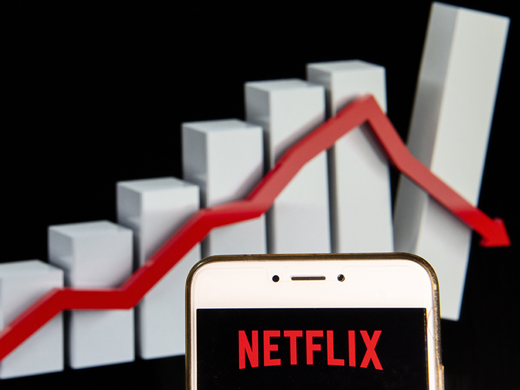 Netflix's subscription numbers took a downward turn over its second fiscal quarter of the year.