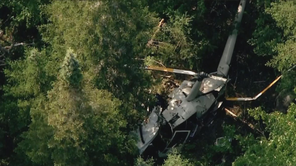 The Transportation Safety Board of Canada is investigating a helicopter crash that claimed the lives of two people. Friday, July 26, 2019.