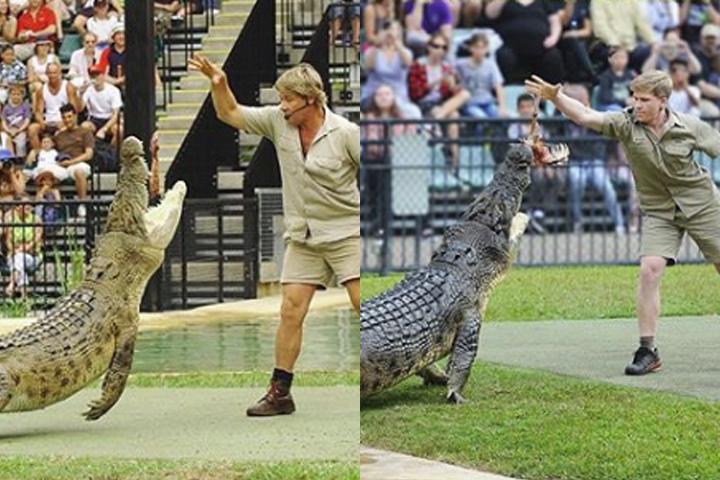 Steve Irwin S Son Recreates Crocodile Hunter Photo 15 Years Later National Globalnews Ca