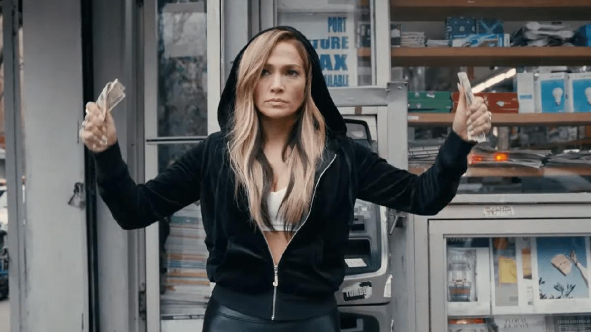 Jennifer Lopez in 'Hustlers.'.
