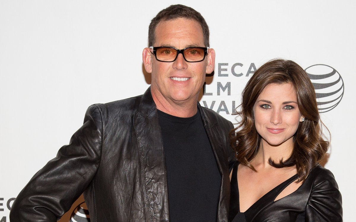 Director Mike Fleiss and Miss America 2012 Laura Kaeppeler attend the screening of 'The Other One: The Long, Strange Trip of Bob Weir' during the 2014 Tribeca Film Festival at BMCC Tribeca PAC on April 23, 2014 in New York City.
