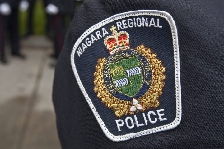 Niagara Regional Police say officers arrived at the scene near Lundy's Lane and Beaverdams Road around 8:40 p.m.