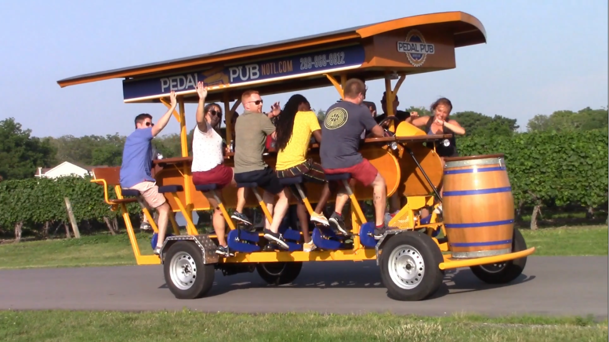 The first Pedal Pub in Saskatoon was planning to take its first ride this summer.