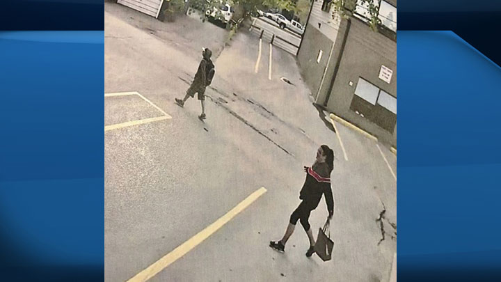 Saskatoon police say the man in this photo is a person of interest in relation to the city's fifth homicide of 2019.