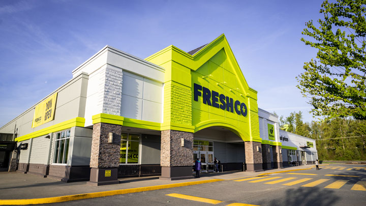 Four Safeway locations in Regina and Saskatoon will be converted to FreshCo stores by the summer of 2020.
