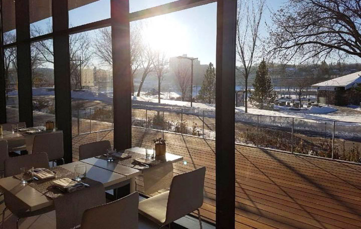 One restaurant in Saskatchewan made OpenTable's list of most scenic for diners in Canada.