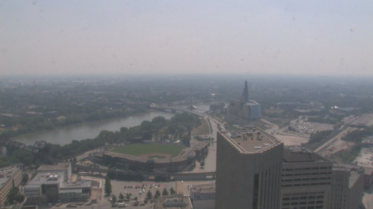 Environment Canadahas issueda special air quality statementfor a portion of southeastern Manitoba including Winnipeg due to smoky conditions caused by forest fires.