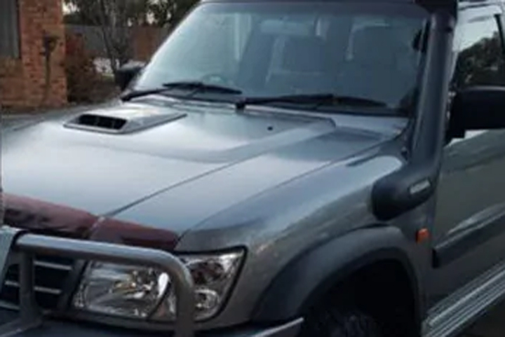 Queensland Police released this image of the vehicle during a search for the four missing children on July 14, 2019.