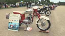Continue reading: IN PHOTOS: Vintage motorcycles on display in Hawrelak Park