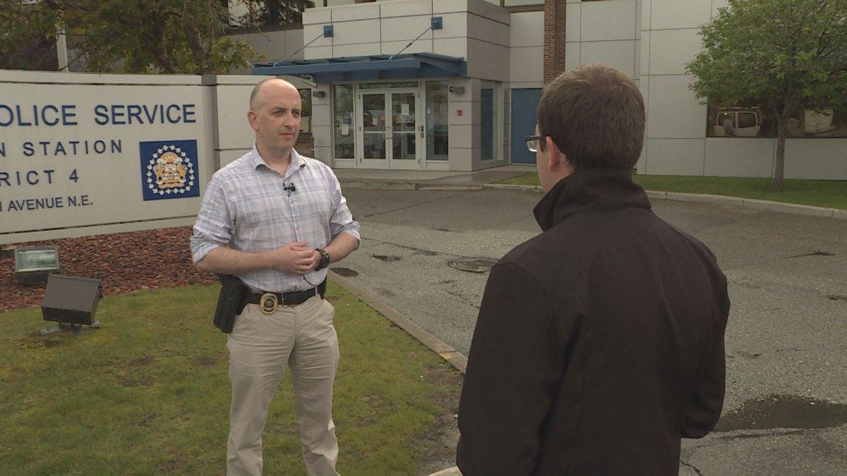 Calgary Police urge Calgaians to lock their windows to deter intruders.