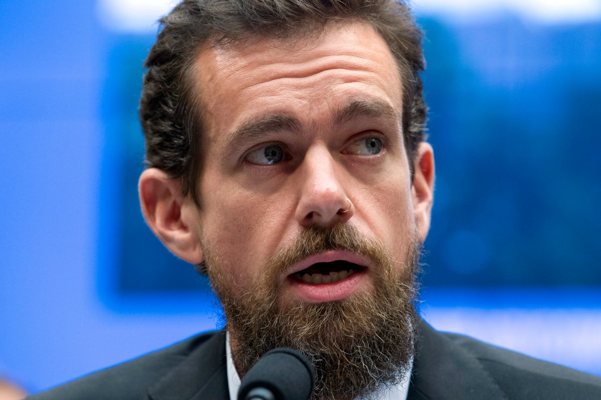In this Sept. 5, 2018, file photo, Twitter CEO Jack Dorsey testifies on Capitol Hill in Washington.