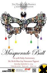 Continue reading: Masquerade Ball