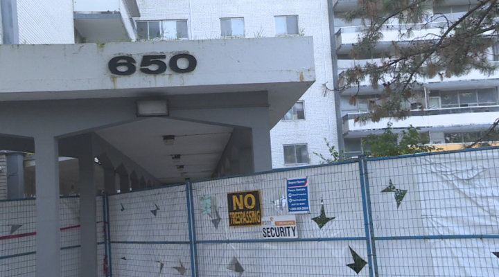 Residents are still not able to access their apartments, one year after the fire at 650 Parliament Street.