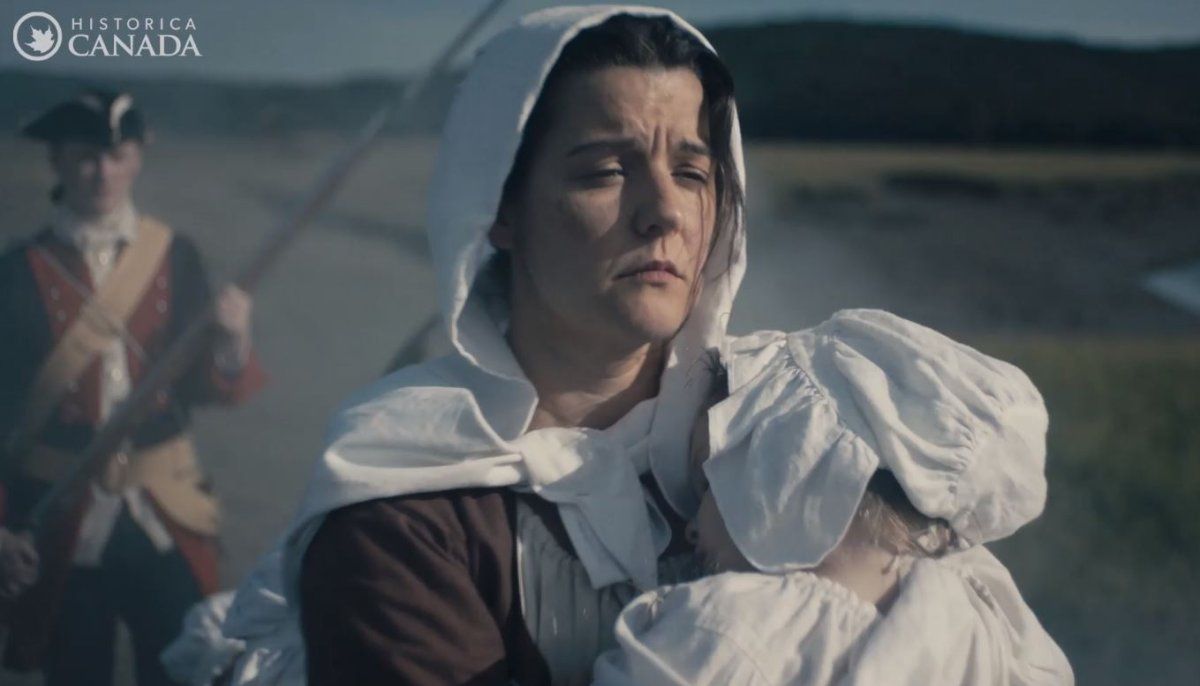 Heritage Canada has released its newest Heritage Minute focusing on the Acadian Deportation.